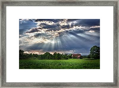And The Heavens Opened 1 Framed Print