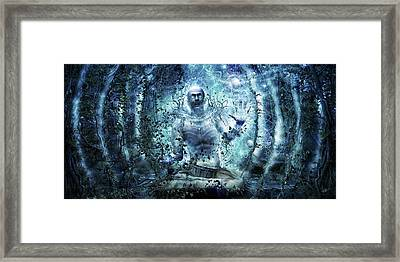 And The Promise Of The Truth Framed Print by Cameron Gray