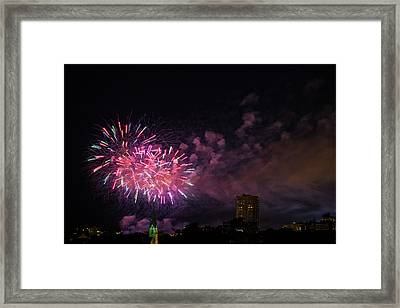 And The Rockets Red Glare Framed Print