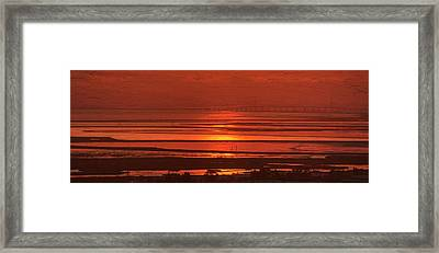 Framed Print featuring the photograph And The Sea May Look Warm To You Babe by Peter Thoeny