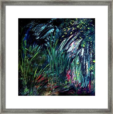 And The Weeds Grow Framed Print by Ellen Seymour
