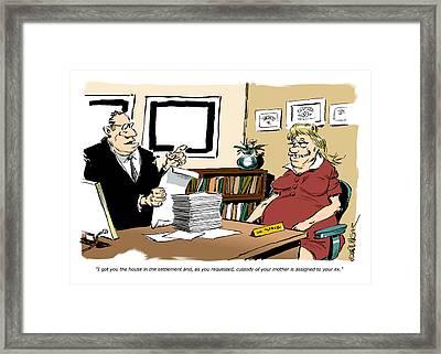 And The Winner Is ... Framed Print by Bruce Bolinger