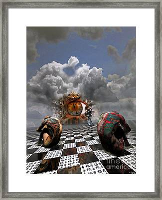 And Then I Dream Framed Print