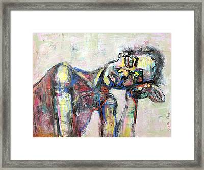 And Then Framed Print