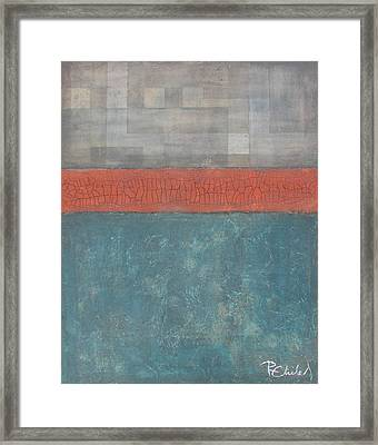 And Then The Streets Stood Still Framed Print by Rebecca Childs
