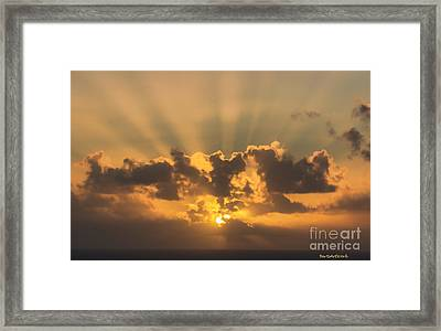 And Then There Was Day Five Framed Print