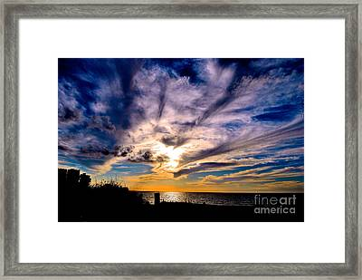 And Then There Was God Framed Print by Margie Amberge