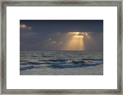 And Then There Was Light Framed Print by Cliff Wassmann