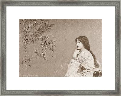 And Then You're Gone Framed Print