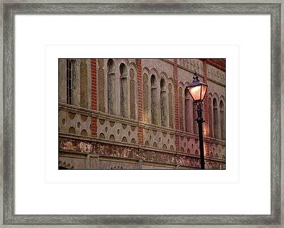 And There Was Light Framed Print by Jez C Self