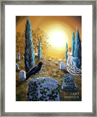 And This Mystery Explore Framed Print by Laura Iverson