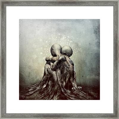 And Though We Fade Away Framed Print by Cameron Gray