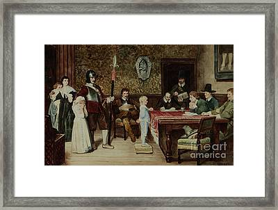 And When Did You Last See Your Father Framed Print
