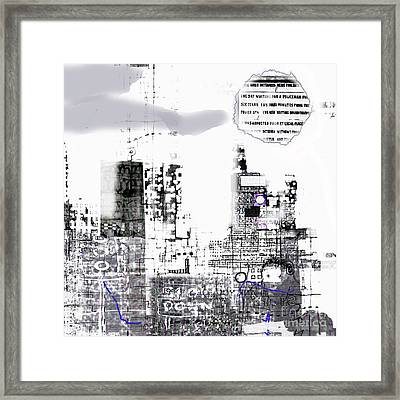 And Who Took Notice 5 Framed Print by Andy  Mercer