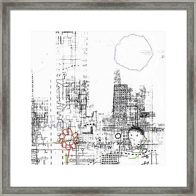 And Who Took Notice Framed Print by Andy  Mercer