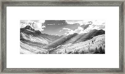 Framed Print featuring the photograph And You Feel The Scene by Jon Glaser