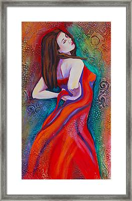 Andalucia 2 Framed Print by Claudia Fuenzalida Johns