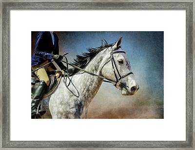 Framed Print featuring the photograph Andalucian Blue by Debby Herold