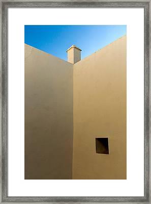 Andalucian Detail Framed Print by Neil Buchan-Grant