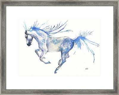 Andalusian Horse 2017 07 18 Framed Print