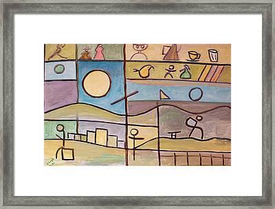 Andante Framed Print by Michael Keogh