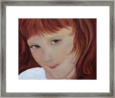 Andee Framed Print by Aimee Vance
