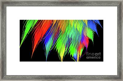 Andee Design Abstract 1 2016 Framed Print