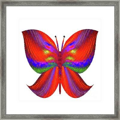 Framed Print featuring the digital art Andee Design Abstract 2 2015 by Andee Design