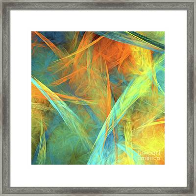 Andee Design Abstract 2 2016  Framed Print