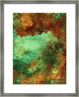 Andee Design Abstract 2 2017 Framed Print