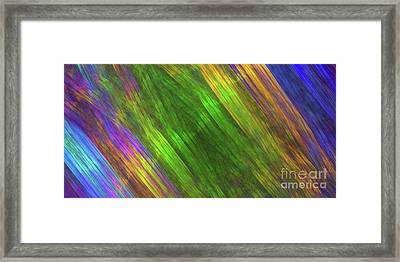 Framed Print featuring the digital art Andee Design Abstract 20 2018 by Andee Design