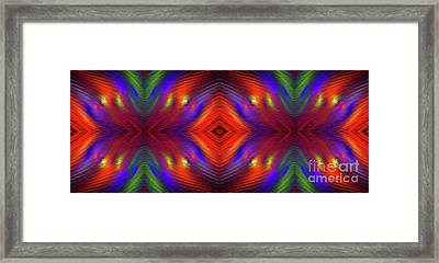 Framed Print featuring the digital art Andee Design Abstract 3 2015 by Andee Design