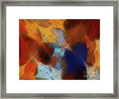 Andee Design Abstract 35 2017 Framed Print