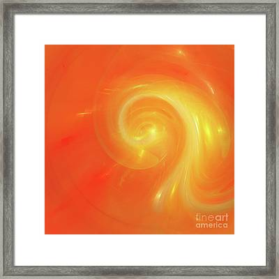 Andee Design Abstract 5 2017 Framed Print