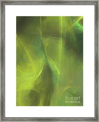Framed Print featuring the digital art Andee Design Abstract 58 2017 by Andee Design