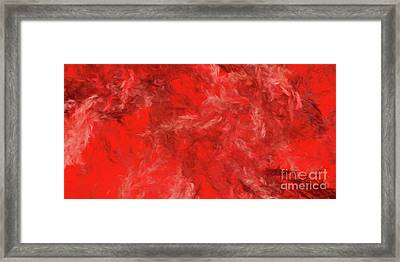 Framed Print featuring the digital art Andee Design Abstract 6 2015 by Andee Design