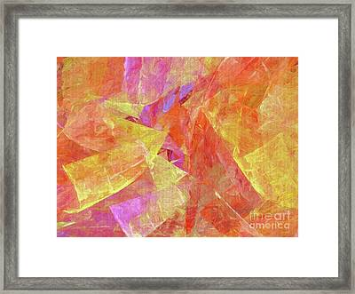 Andee Design Abstract 6 2017 Framed Print