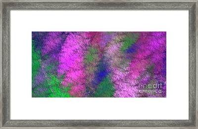 Framed Print featuring the digital art Andee Design Abstract 7 2018 by Andee Design