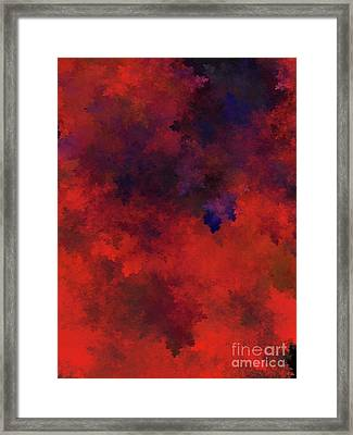 Framed Print featuring the digital art Andee Design Abstract 73 2017 by Andee Design