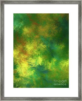 Framed Print featuring the digital art Andee Design Abstract 78 2017 by Andee Design