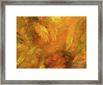 Framed Print featuring the digital art Andee Design Abstract 79 2017 by Andee Design