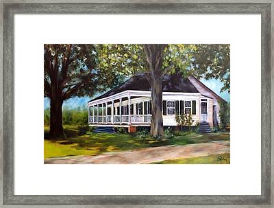 Andermann Home C.1860 Framed Print by Betsy Doody