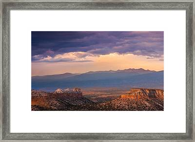 Anderson Overlook Framed Print