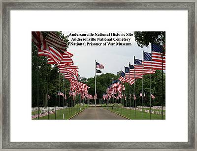 Andersonville National Park Framed Print by Jerry Battle