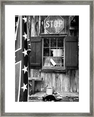Andersonville Street Scene Framed Print by Todd Fox