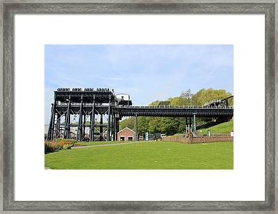Anderton Boat Lift Framed Print