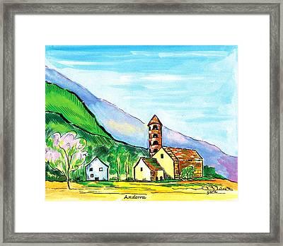 Andorra Framed Print