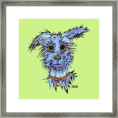 Andre Framed Print by Tanielle Childers