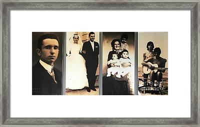 Andrea Bocelli Family Framed Print