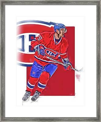 Andrei Markov Montreal Canadiens Oil Art Framed Print